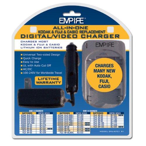 Replacement Charger for Kodak KLIC-8000 Video Cameras - Empire Scientific #DVU-KFC1 R1 by Empire Scientific