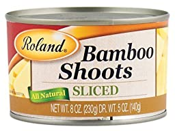 Roland: Sliced Bamboo Shoots 8 Oz (12 Pack)