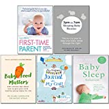 img - for 7pm to 7am Sleeping Baby Routine, Baby Sleep Solution, Baby Food Matters, First-Time Parent, My Pregnancy Journal with My Craft 5 Books Collection Set book / textbook / text book