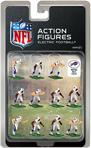 Buffalo Bills Away Jersey NFL Action Figure Set