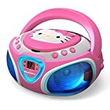 Best Childrens Cd Players - Hello Kitty CD Boombox with AM/FM Radio Review