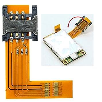 Amazon.com: Tarjeta SIM a PCI-Express Wrap-On Flex adaptador ...