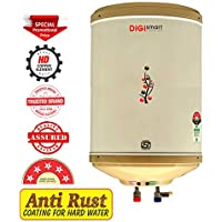 DIGISMART 10 L Instant 3 KVA 5 Star Geyser with ABS Top Bottom, HD ISI Element (Ivory)