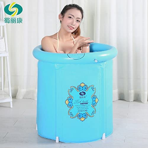Heavy Duty Teen Size Folding Bathtub, Inflatable Bathtub, Portable Bathtub, Plastic Bathtub ,Spa Bathtub, Massage Bathtub, Folding Bath Bucket, Bath Bucket
