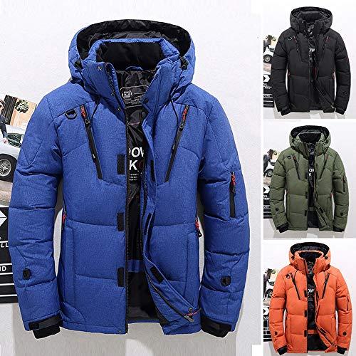 En Hommes Chaud Parkas Hooded Bleu Top De Velours Veste Manteau Homme Blouse Doudoune Hiver Peluche Doublure Garçons Covermason 6xqUIdd