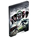 Injustice: Gods Among Us Limited Edition Exclusive FutureShop SteelBook Case [G2 Size, No Game] NEW