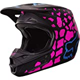2017 Fox Racing V1 Grav Helmet-Black/Pink-XS