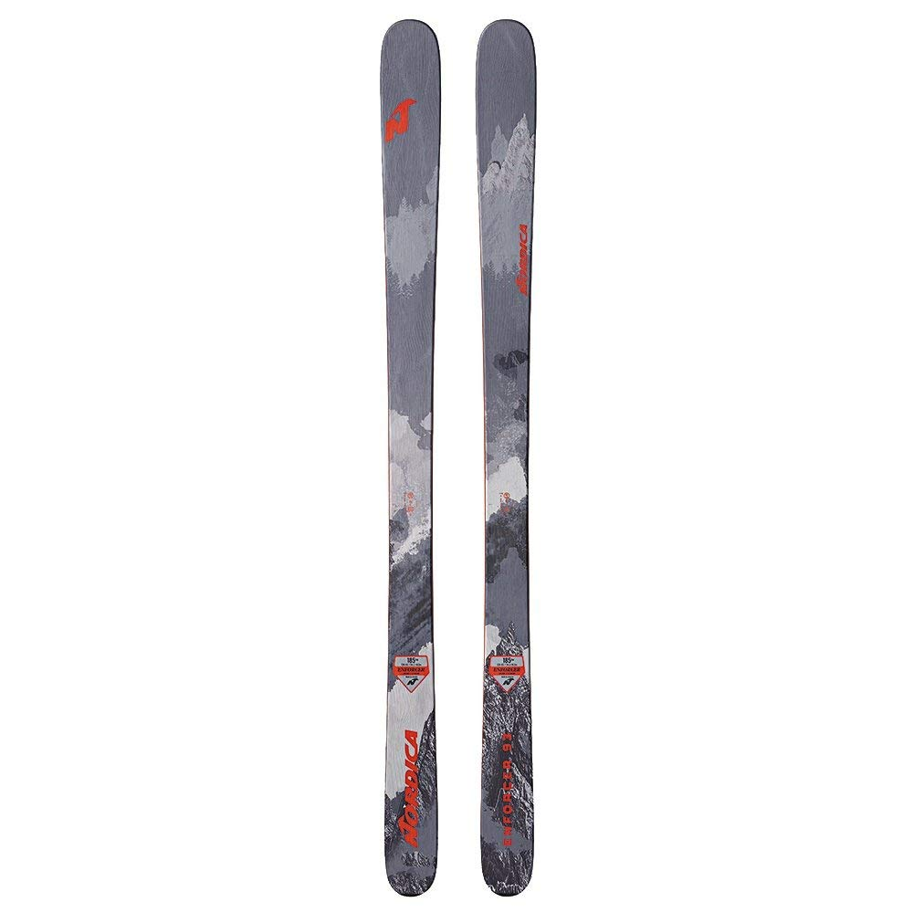 Nordica Enforcer 93 Skis Grey/Red 193cm by Nordica