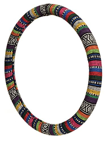ALLISON 95-0379 Multi-Color Prairie Stripe Steering Wheel Cover