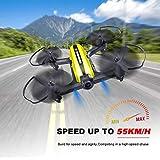 Mini Drone Racing Drone Quadcopter 720P Wide Angle HD Camera Live Video Headless