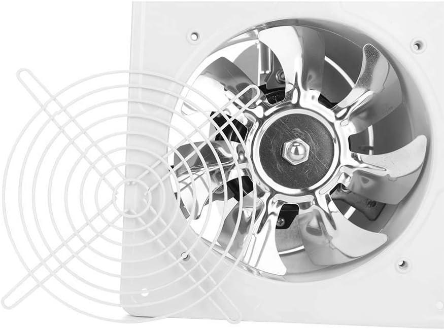 Oumij Cocina Ba/ño Escape Ventilador-40W 220V Montado en la Pared Escape Ventilador Bajo Ruido Hogar Ba/ño Cocina Garaje Ventilaci/ón Ventilaci/ón Beige