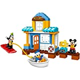 LEGO DUPLO Disney Junior Mickey & Friends Beach House, Preschool, Pre-Kindergarten Large Building Block Toys for Toddlers
