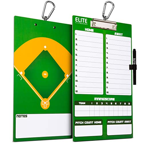 Marker Boards Coaches' & Referees' Gear Franklin Sports MLB Coaches Clipboard 1567