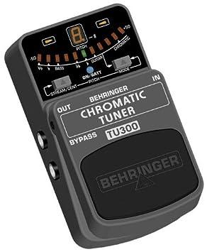 Behringer TU300 sintonizador de guitarra eléctrica: Amazon.es: Instrumentos musicales