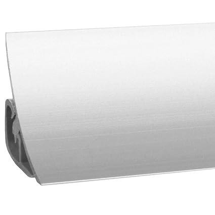 HOLZBRINK Copete de Encimera de Aluminio Listón de Acabado Aluminio Copete de encimeras de cocina 23x23