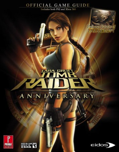Lara Croft Tomb Raider Anniversary 360 Ps2 Prima Official