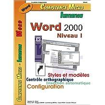 WORD 2000 NIVEAU 1