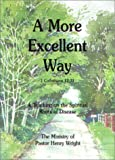 img - for A More Excellent Way : A Teaching on the Spiritual Roots of Disease book / textbook / text book