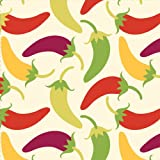 Southwest Chilies Beverage Napkins Chili Peppers 18 Per Pack