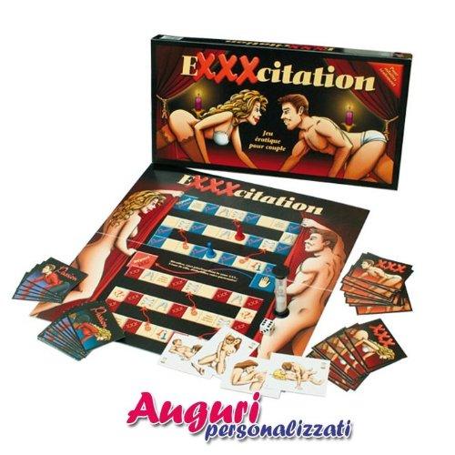 Un divertente gioco in scatola, che sulla scia dei vecchi giochi da tavolo, faranno riscoprire a lui e a lei, il significato di sensualità e di sessualità.