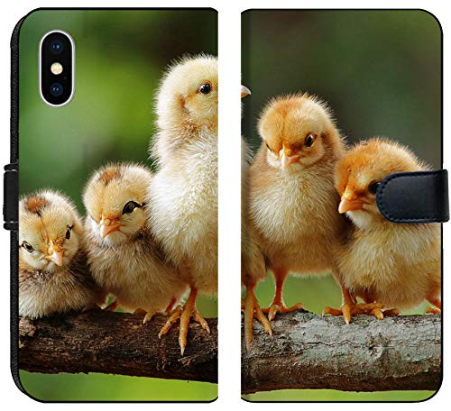 Apple iPhone X Flip Fabric Wallet Case Group portrait of Cute Chicks Image 15252574 Customized Tablemats Stain Resistance (Chick Personalized Placemat)