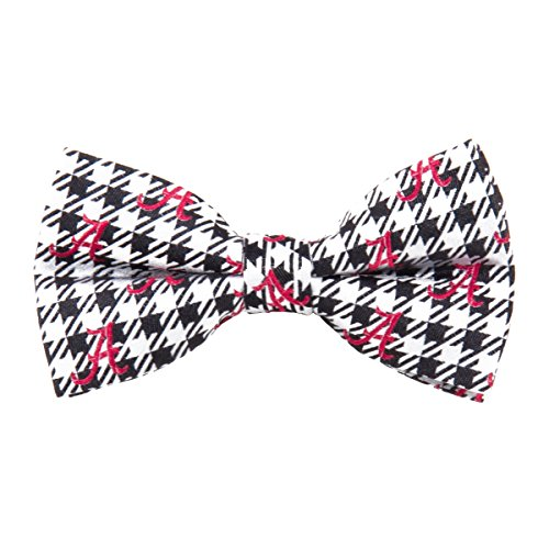 Eagles Wings University of Alabama Houndstooth Bow Tie