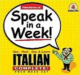 Speak in a Week Italian Complete!, Penton Overseas, Inc. Staff, 1591255481