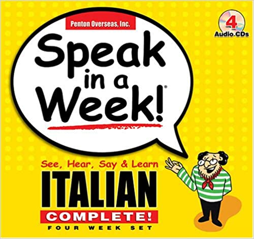 _ZIP_ Speak In A Week Italian Complete: See, Hear, Say & Learn. Updated today deposits Superior monitor