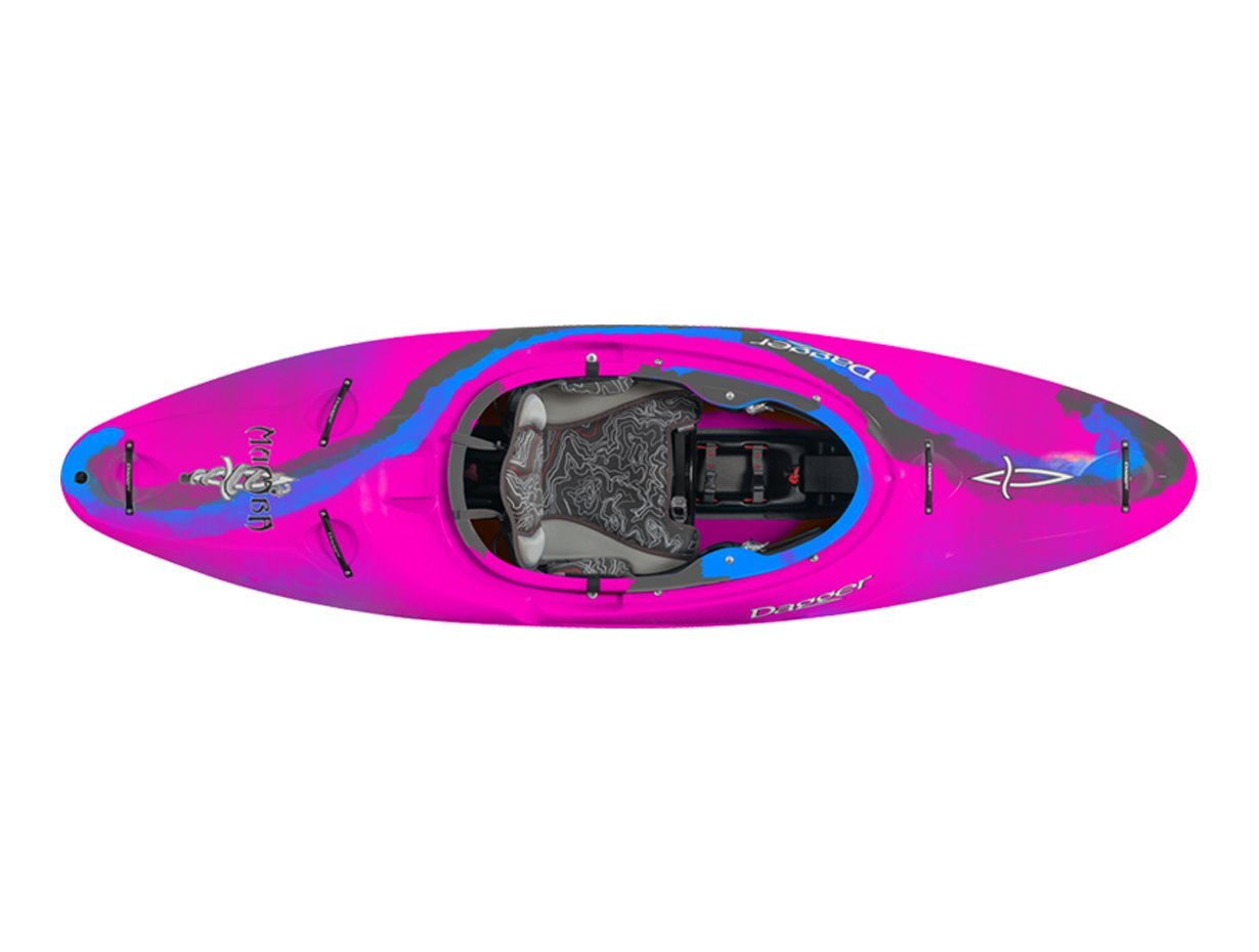 Dagger Mamba Versatile Whitewater Kayak - 7.6, Aurora by Dagger