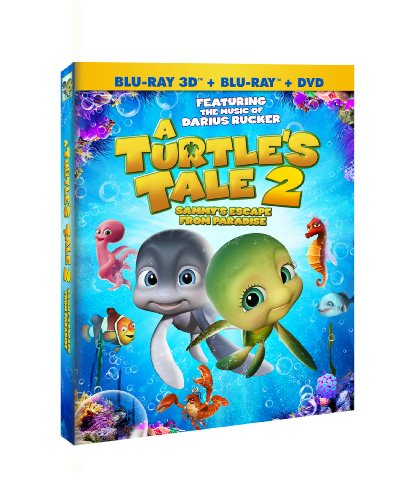 A Turtle's Tale 2: Sammy's Escape from Paradise (DVD/Blu-Ray/3D Combo) - Turtle Stack