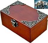 Vintage Wood Rectangle Jewelry Wind Up Music Box : Davy Jone's theme (soundtrack)