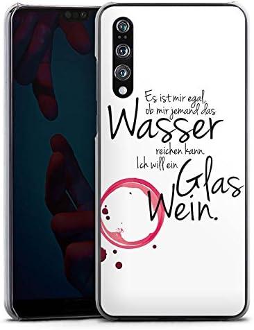 DeinDesign H/ülle kompatibel mit Huawei P20 Pro Handyh/ülle Case Wein Spr/üche Statement