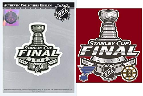 2019 Stanley Cup Final Jersey Patch & Sticker Bruins VS. Blues Dueling Teams Sticker ()