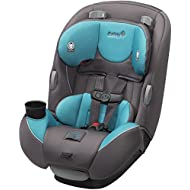 Safety 1st Continuum 3-in-1 Convertible Car Seat, Sea Glass Teal