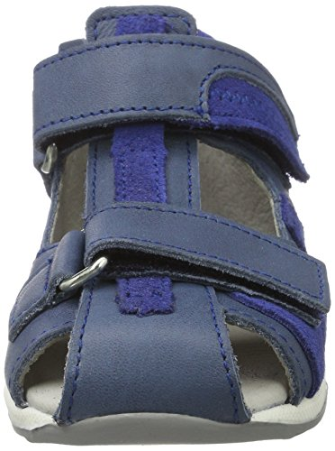 Däumling Kastor - Botas de senderismo Bebé-Niñas Blau (Fortuna jeans42)