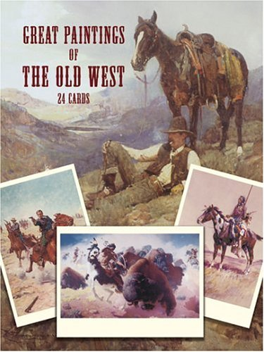 he Old West: 24 Cards (Dover Postcards) (Great Paintings)