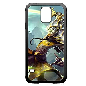 MasterYi-001 League of Legends LoL case cover Iphone 5C - Rubber Black