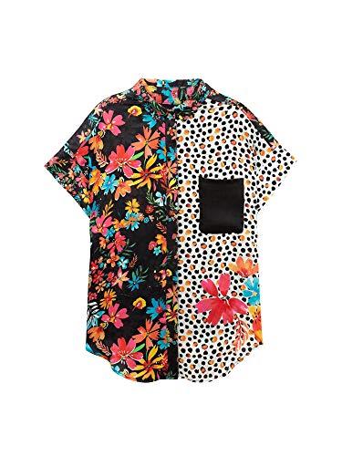 19swcw94 Desigual Donna 19swcw94 Camicia Multicolor Desigual Camicia qqRZBt