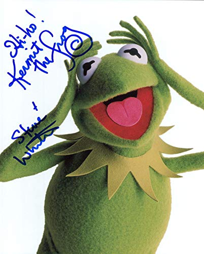 Steve Whitmire (Kermit the Frog The Muppets) signed 8x10 photo