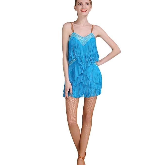 Amazon.com: YULIN para mujer vestidos de baile latino ...