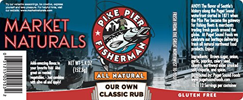 Pike Pier Fisherman Our Own Classic Rub