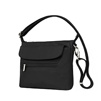 28d162eee18 Image Unavailable. Image not available for. Color  Travelon Anti-Theft  Adjustable Shoulder Bag Slim RFID Blocking ...