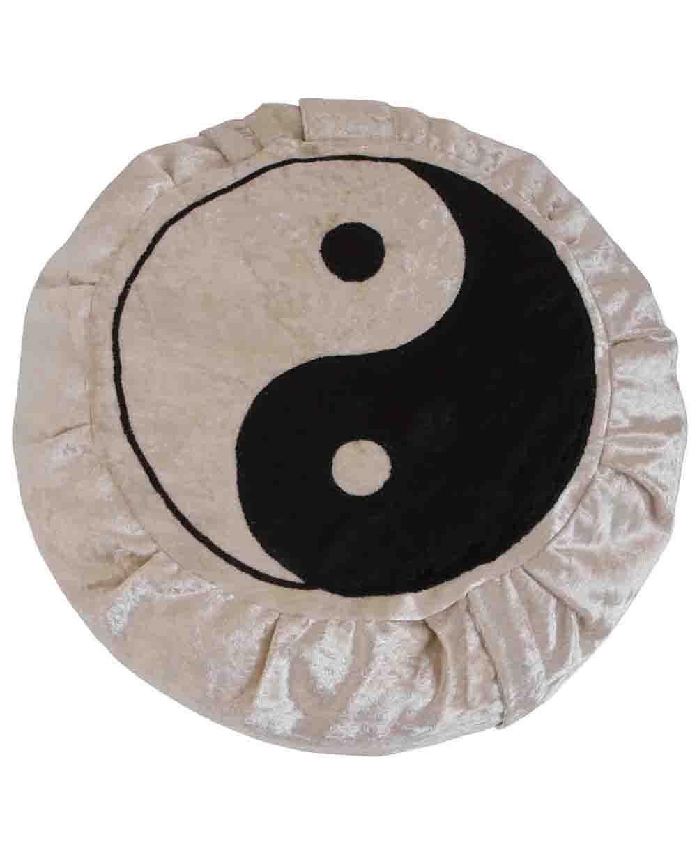 Yin Yang Zafu瞑想クッション   B01H3K02XO
