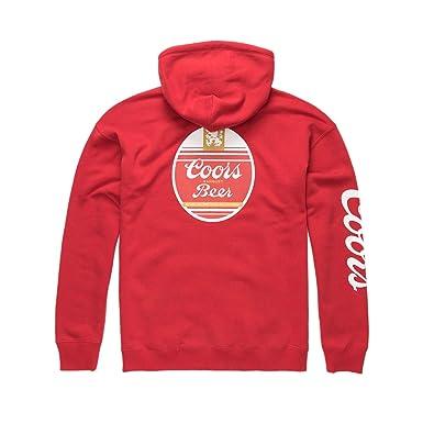Amazon.com  Brixton x Coors Cask 3 Hoodie  Clothing 8ccfa13e446