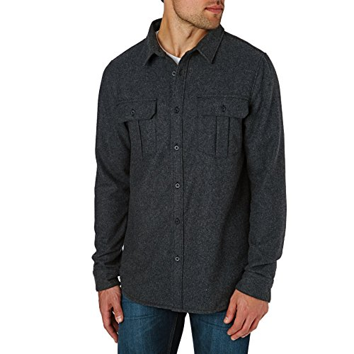 Quiksilver Travis Rice Wooly Shirt XX Large Grey Heather by Quiksilver