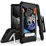 Galaxy S9 Case, Trishield Durable Rugged Heavy Duty Phone Cover With Detachable Lanyard Loop Belt Clip Holster And Built in kickstand For Samsung Galaxy S9 - Printed Solar Planet Galaxy