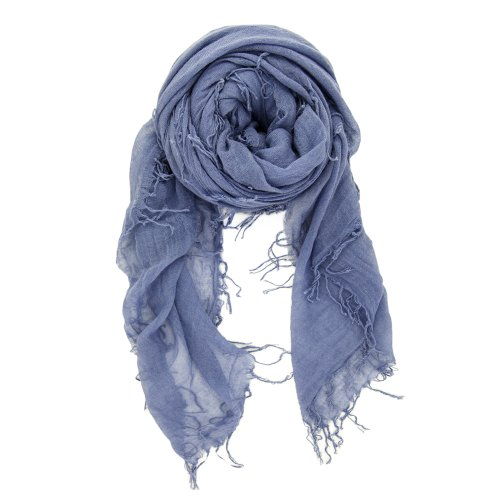 Chan Luu Women's Cashmere and Silk Scarf Cloud Grey Scarf One Size