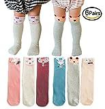 MOGGEI Girls Socks Cute Animal Knee High Dress