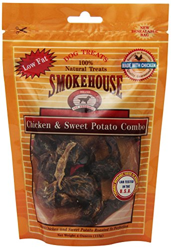 Smokehouse Pet Products 85430 Chick Potato Treat For Dogs, 4-Ounce