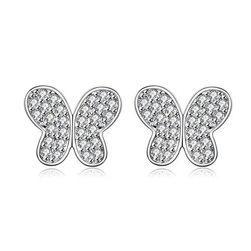Fashion Earrings Western Style Earrings Simple Butterfly Knot Earrings Ladies Earrings
